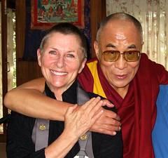 Roshi Joan, His Holiness the Dalai Lama