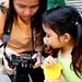 around the camera