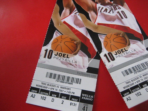 Our Blazer Tickets
