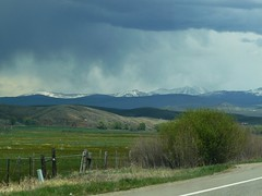 Virga, Valley, Mountains