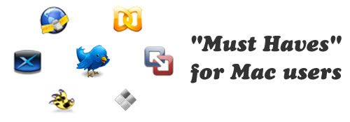 """Today's """"Must Haves"""" for Mac users"""