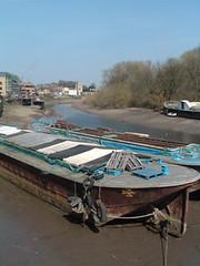 Rusty barge, Isleworth