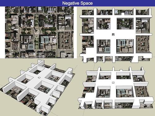 Baltimore's Mount Vernon Square - Negative