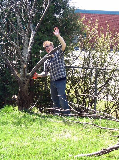My Husband the Lumberjack