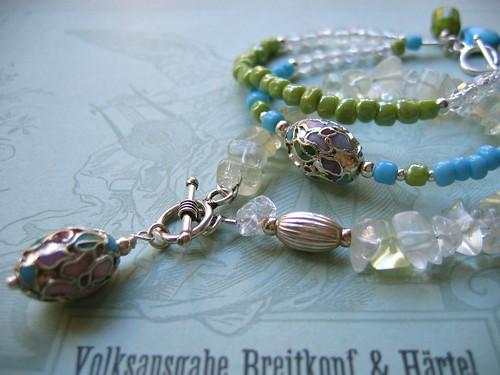 Petal bracelets