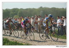 Paris-Roubaix 2007 - The leaders