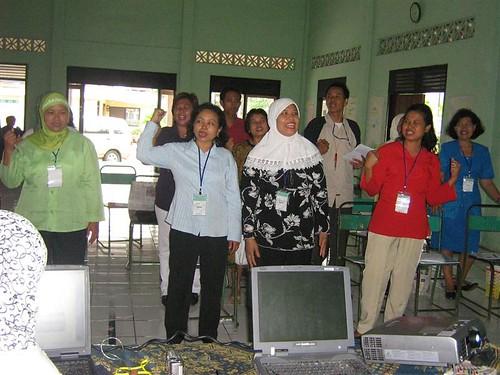 Ibu PKK Kel. Jomblang, Semarang (1)