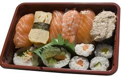 Sushi from The Bento Box, Wollongong
