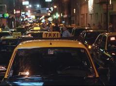 grève des taxi portenos
