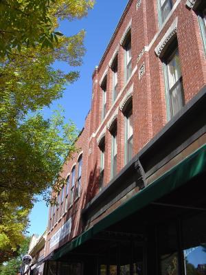 Brick facade, Keene, NH