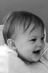 Baby Pic BW