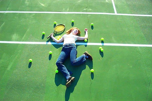 DEATH BY TENNIS. YOU TOTALLY HAD IT COMING.