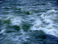 Rapids At Dusk