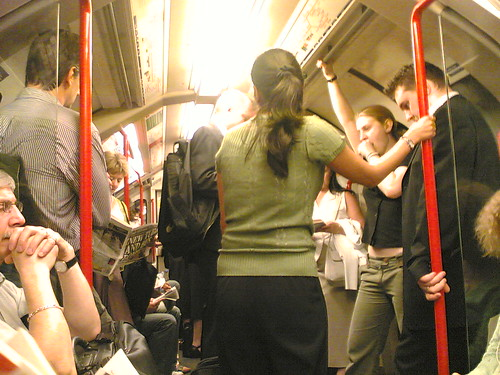 On the tube, 21st July 2005