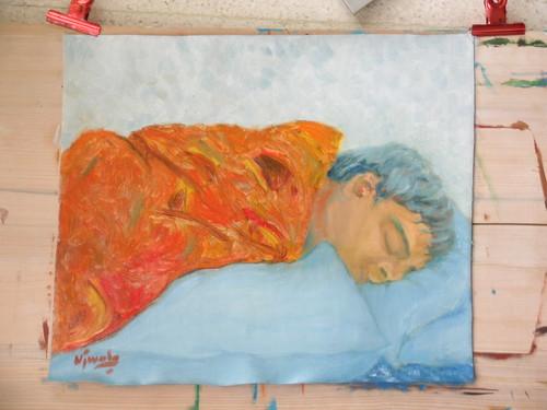 Ramesh Sleeping