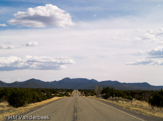 South on NM 14