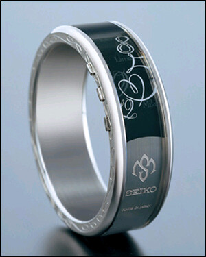 Seiko's Mistery e-Ink watch design
