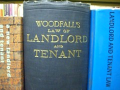 """""""Woodfall's Law of Landlord and Tenant"""""""