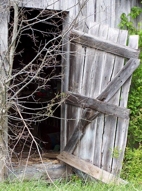 Shed Door Closeup 2