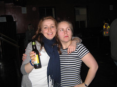 Jag och Sarah, som nog är den jag kännt längst i Aberdeen och fortfarande håller ihop med(förutom Pete)