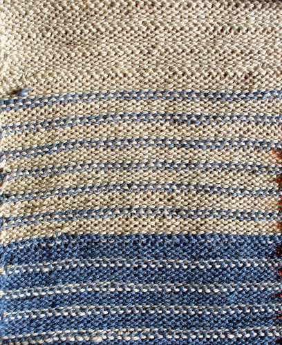 Cording Stitch Backside
