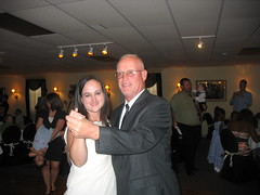 Me and uncle Charlie dancing.