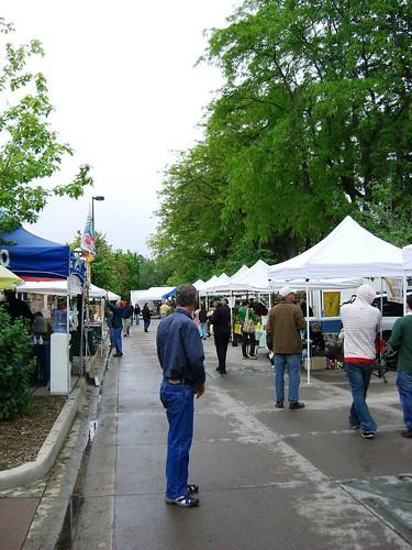 Wednesday Farmer's Market, Boulder, Colorado