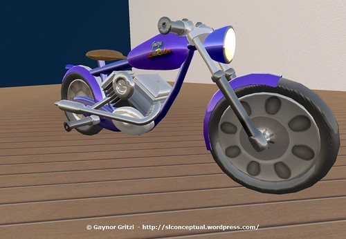 Lowrider Motorcycle 006