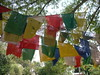 Prayer flags at Sarnath