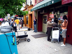 'Baby Mama' Filming in Park Slope