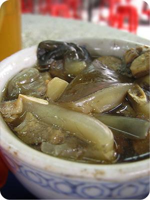 Turtle herbal soup