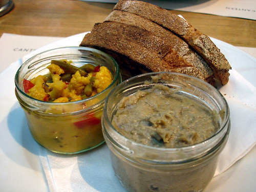 Potted Duck with Piccalilli