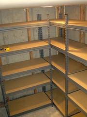 Food Storage Shelving
