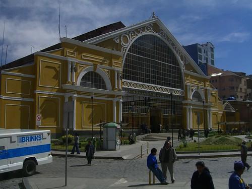 La Paz Station