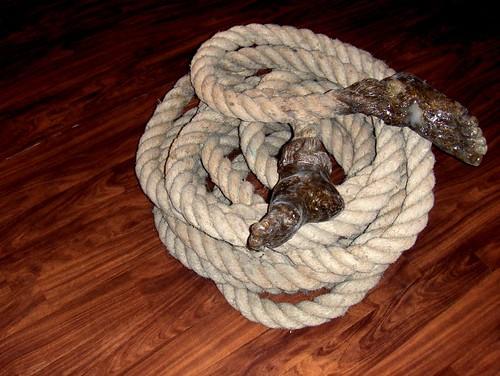 rope feet