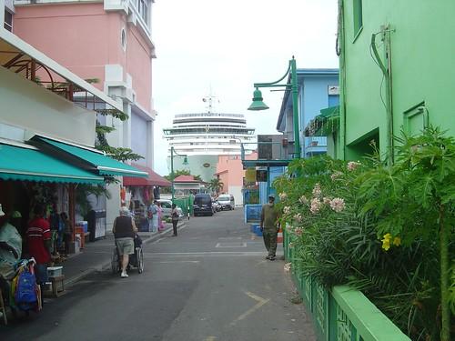 P&O Arcadia in Antigua