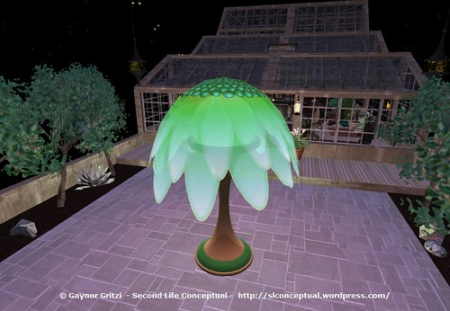 FlowerTree Light Lawn Ornament 014