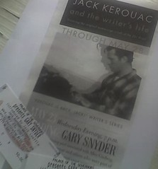 Upcoming Gary Snyder talk about Jack Kerouac