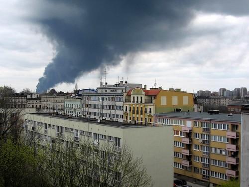 Pożar na Maślicach (I)