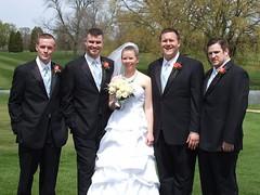 Bride and Best Men