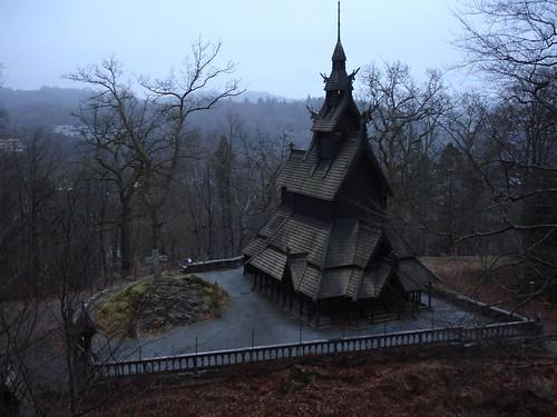 Fantoft Stavkirke, Bergen (Norway)