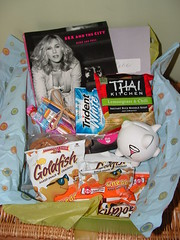 College gift baskets Girl