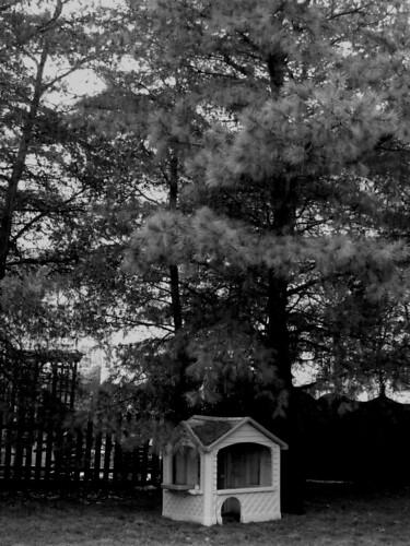 pine tree playhouse