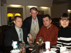 Friends at the meeting with Yulia,April 5