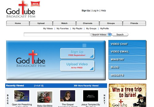 GodTube screenshot