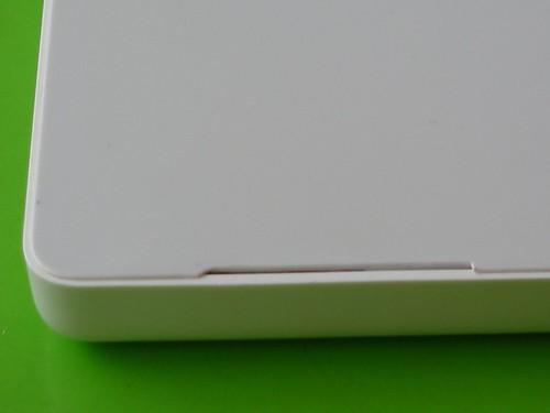 Broken Macbook chassis (detail)
