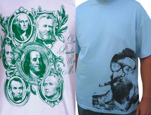T-Shirts By Bean Dip