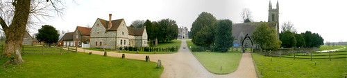 Chawton House panorama