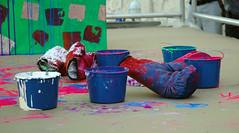 Ushio-Shinohara - Boxing Painting - Buckets an...