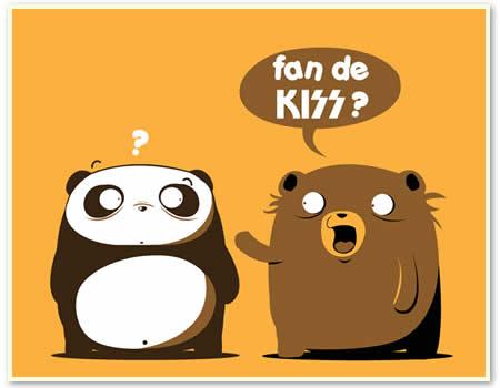 Camiseta Kiss fan